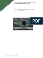 Propuesta Técnica Financiera Para La Cloracion Por Goteo Automatico