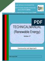 Renewable Energy Manual August 2016