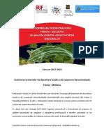 Concurs 2017-2018! Susținerea proiectelor de dezvoltare locală și de cooperare descentralizată Franța - Moldova