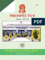Prospectus UTDs and UILMS 2017-18