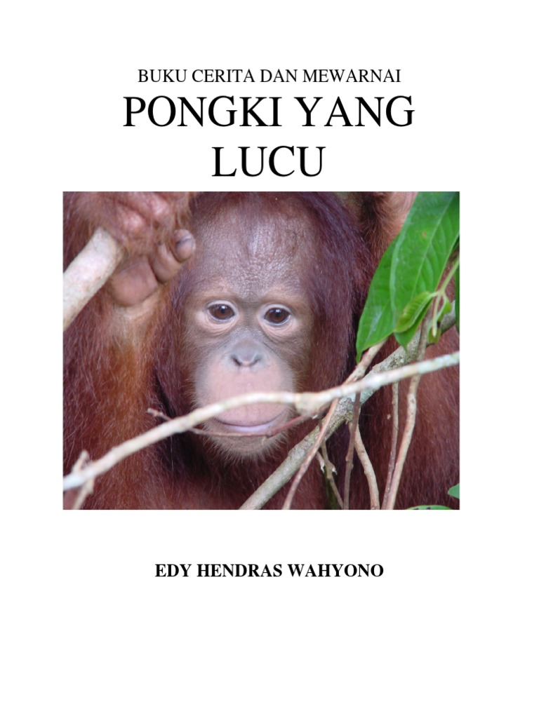 2005 Buku Cerita Mewarnai Pongki Yang Lucu