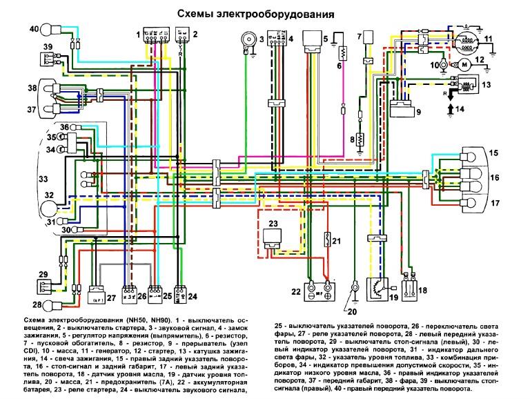 Honda Lead Nh50 Nh90 Wiring Diagram