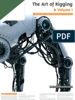 Art of Rigging Vol I Book -CG Toolkit   Autodesk Maya   Books