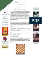 Chess English Najdorf
