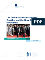 Hussain China Pakistan Economic Corridor 2017