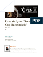 Case Study on 'Second Cup Bangladesh'