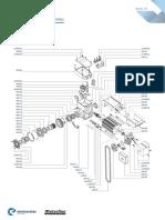 Despiece motor kvm50-100-400