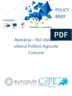 Policy Brief Agricultura Eurosfat