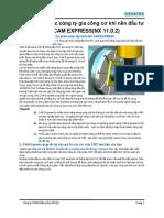10 lý do mà các công ty gia công cơ khí nên đầu tư NX CAM EXPRESS(NX 11.0.2)