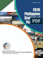 Philippine Statistics Yearbook 2016
