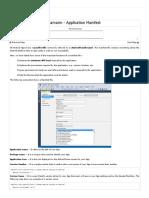 2. Xamarin Application Manifest