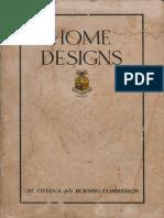 House Designs, QHC, 194X