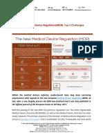 New Medical Device Regulations as per EU