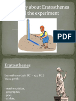 The Eratosthenes Experiment in Our School