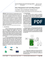 Industrial Data Acquisition, Management and Controlling using IoT