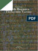 Talat Tekin - Tarih Boyunca Türkçenin Yazımı