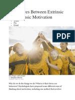Extrinsic and Intrinsic Motivationfdjhfdjdj