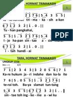 Ungkup 131b - Tara, Hormat Trimakasih