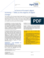 10 ideas for the future of Europe's digital economy