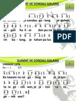 Ungkup 137b - Salamat Ijei Sondau Galang
