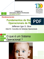 Aula 01 - Conceitos de Sistemas Operacionais
