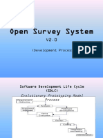Open Survey System Development