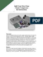 2 Knob Compressor Instructions