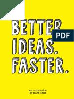 Matt Hart - Better Ideas