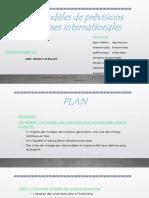 Les Modèles de Prévisions Des Crises Internationales PPT VF