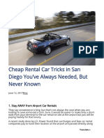 Renty Biz 2017-06-12 Cheap Rental Car Tricks San Diego Youve Always Needed Never Known