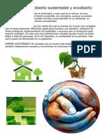 ecodiseño - diseño sustentable / UNC -