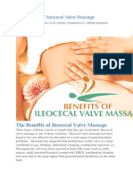 The Benefits of Ileocecal Valve Massage