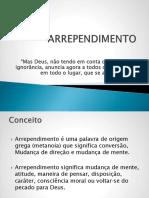 ARREPENDIMENTO 2