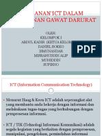 PERAN ICT DALAM EMERGENCY KELOMPOK 1.ppt