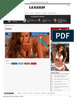 Yvonne _ Modelo Del Dia _ Diario La Razón