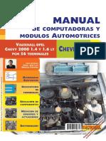 Manual de computadoras Chevrolet 1.4 y 1.6