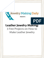 Leather Jewelry Projects