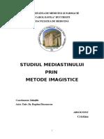 Studiul Mediastinului Prin Metode Imagistice