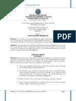 reglamento Att Panama 2007