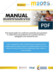 Manual Para Autograbacion Del Video de Practica Educativa de Docentes de Aula