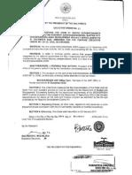 Executive Order-sample