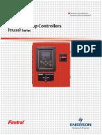 Firetrol - Data Sheet - Mod. FTA550F