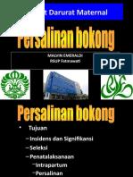 malvin-persalinan-bokong.ppt