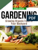 Gardening - Growing Organic Food in Your Backyard (2016).epub