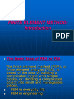 Finite Element Analysis_intro