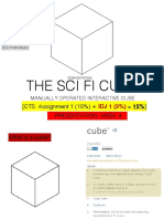assignment 1 - interactive scifi cube