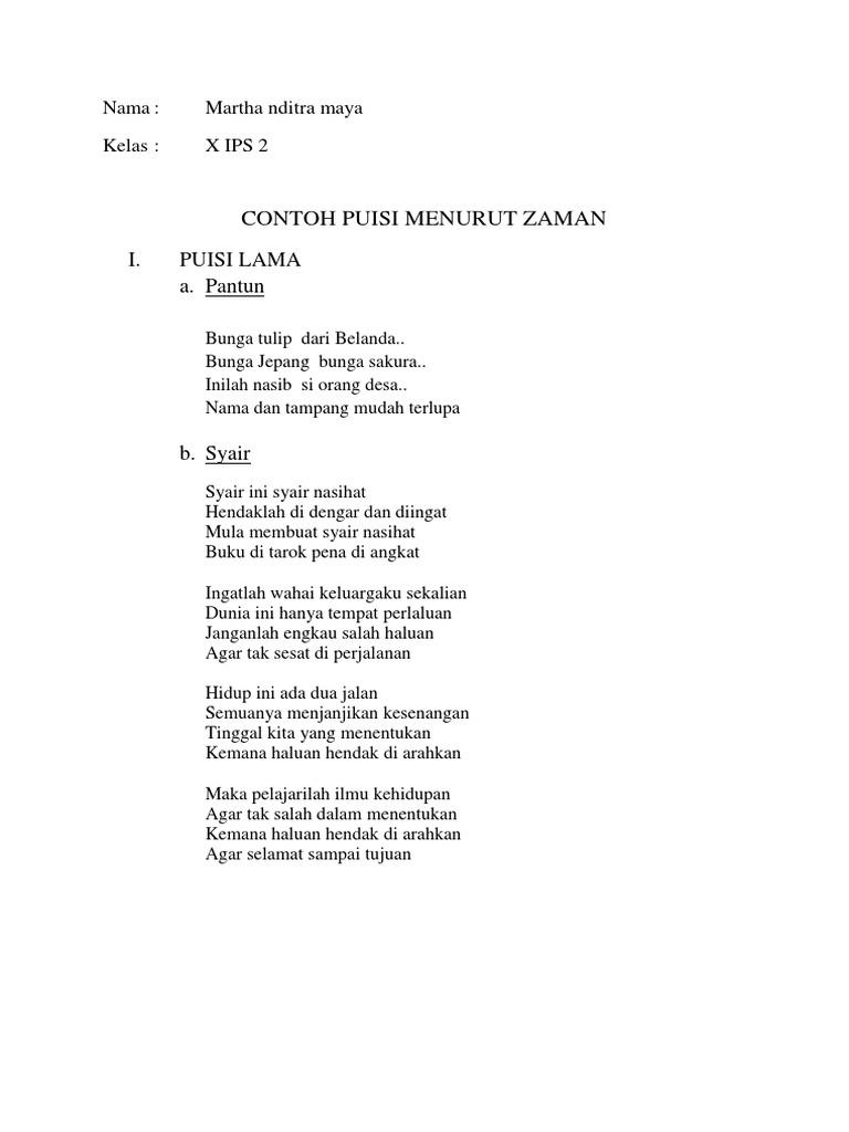 Contoh Puisi Tentang Bunga Mosaicone