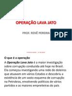 Atualidade - Operação Lava Jato
