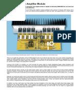 Studio 350 Power Amplifier Module