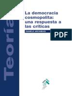 La Democracia Cosmopolita. Una Respuesta a Las Criticas